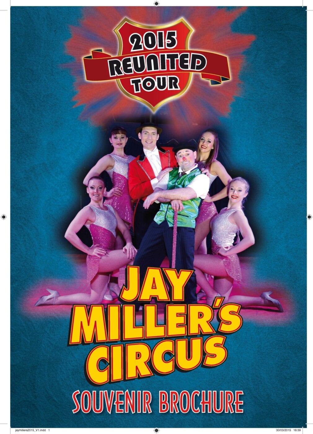 Jay Millers Circus Brochure 2015