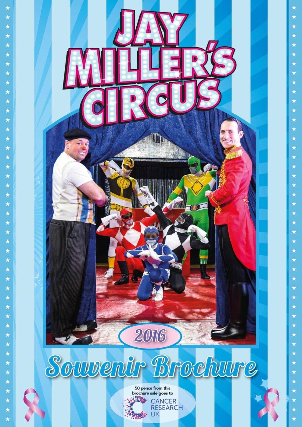 Jay Millers Circus Brochure 2016