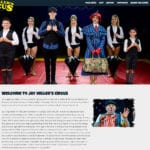 Thumbnail of Jay Millers Circus Website 2019