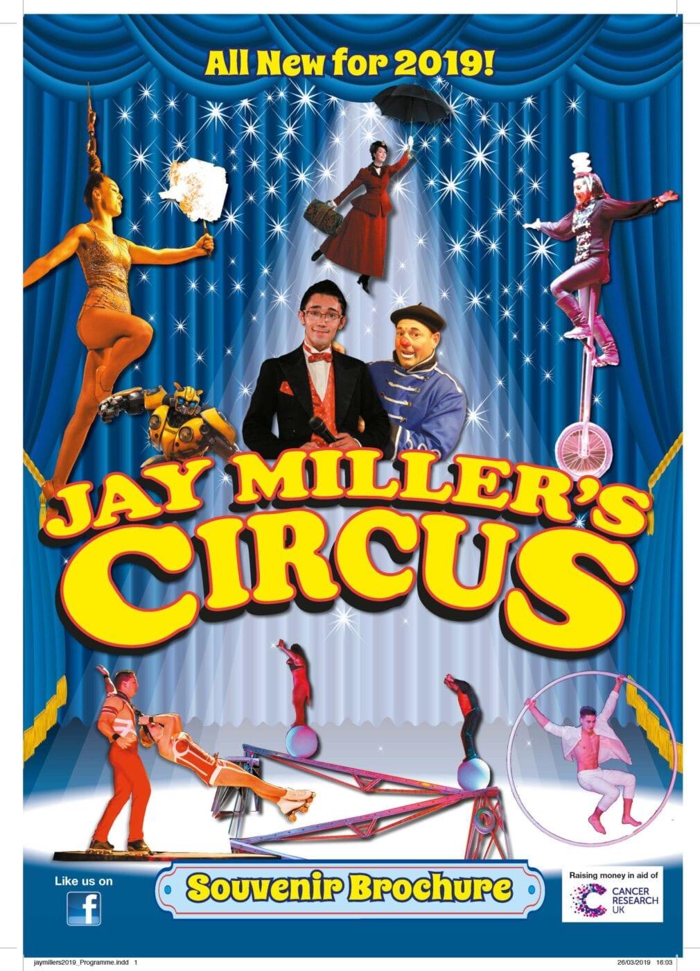 Jay Miller's Circus Brochures 2019
