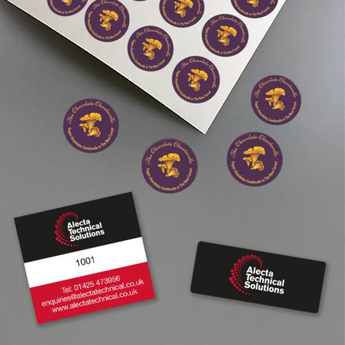 Stickers, Asset Tags and Domed Stickers